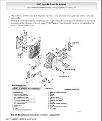 hyundai santa fe gearbox auto transmission f4 a51 3