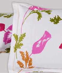 Throw Pillow Covers Online India Story Home 100 Cotton 120 Tc Doublebedsheet With 2 Pillow Covers