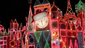 world christmas it s a small world christmas projection show disneyland