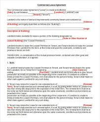 land lease agreement form free cv01 billybullock us
