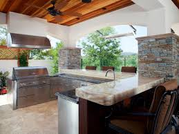 Outside Kitchen Ideas Kitchen Best Modern Design For Building Outdoor Kitchen How To