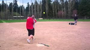 demarini corndog softball bat chris larsen hitting demarini corndog