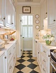 Kitchen Small Galley Kitchen Makeover With Brick by Beautiful Efficient Small Kitchens Traditional Home