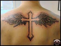 cross with wings design by protxtics deviantart com on