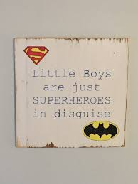 Boys Wall Decor Boys Wall Decor Sign For Boys Room Rustic Wall Art Superhero