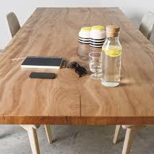 esstisch holz moderne esstisch holz metall rechteckig sun wood