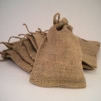 small burlap bags dried flowers dried flower bouquets decorative flowers
