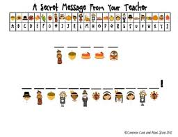 thanksgiving secret message from your decoding november free