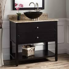 vessel sinks bathroom cabinets bamboo top sink vanity cabinet