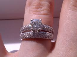 the wedding band engagement ring wedding band which way to wear it show me