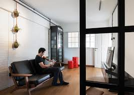 SMALL Homes So Beautiful You Wont Believe Theyre HDB Flats - Living room design singapore