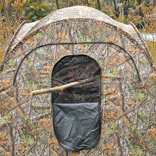 Pop Up Ground Blind Pop Up Ground Hunting Blind Camo Tent 2 Man