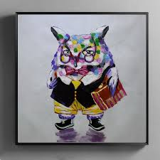 Owl Home Decor High Quality Owl Painting Canvas Promotion Shop For High Quality