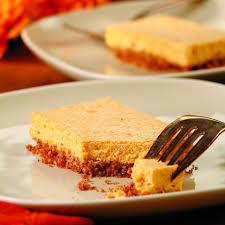 Squash Cheesecake Bars Recipe Eatingwell