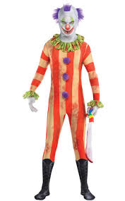 Scary Clown Halloween Costume Scary Clown Age 10 14 Boys Fancy Dress Halloween Joker Circus Kids