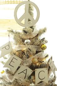 diy peace sign tree topper bustamante