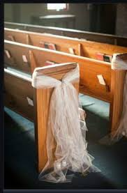 wedding pew decorations want a and idea for the pews at your wedding then