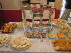 shabby chic vintage glam bridal wedding shower party ideas