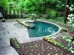 Backyard Rooms Ideas Outdoors Beautiful Backyard Decor With Small Pool And Round
