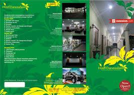 Contoh Desain Brosur Hotel   desain brosur hotel darussalam isid gontor ponorogo jasa desain