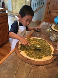 cooking with kids hiking mommy for younger kids there are a lot of the parts of the recipes that they can do i don t let caedmon or edric near the knives yet because i value the tips
