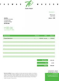 download simple photography invoice template voucher word template