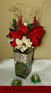 diy christmas flower arrangement made easy with the dollar tree