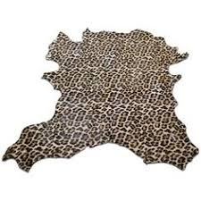 Calf Skin Rug Murray Rug In Watercolor Leopard Design By Kate Spade 1 200 Cad