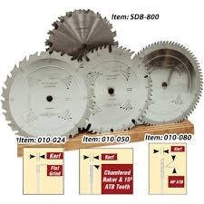 table saw blade width 4pc thick kerf flat top saw blade package saw blade packages