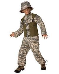 Beautiful Halloween Costumes Girls Skull Soldier Costume Kids Halloween Costumes