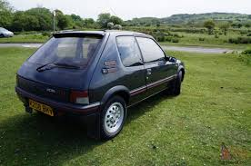 peugeot gti 1980 1992 peugeot 205 gti graphite grey auto automatic