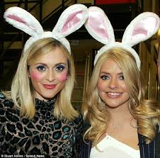 Amazon Lace Covered Bunny Ears Celebrity Style Fearne Cotton Holly Willoughby Rock Rabbit Ears Celebrity