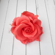 flower decoration for hair coral hairpin flowers hair pin decoration flowers