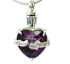necklaces for ashes from cremation chapel hill memorial park infinity keepsakes cremation urn