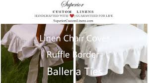 Smartseat Dining Chair Cover by Chair Slipcover With Ballerina Sash Ties Inspired By Cottage