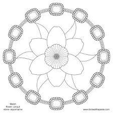 68 mandalas color images coloring