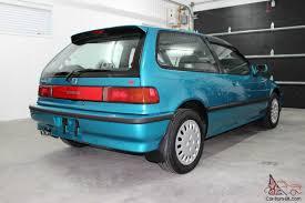 Honda Civic Si 1986 Civic Si