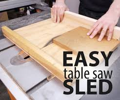 easy table saw sled 16 steps with pictures