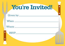 Printable Invitation Cards Bbq Party Invitations Bbq And Summer Invites By Fun Zazzlers