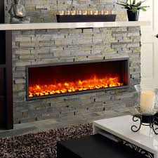 Electric Fireplace Wall by Brick Electric Fireplace Modern Wall Mount Living Room Ideas With