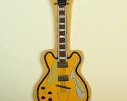 felt guitar etsy