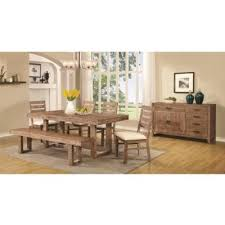 6 pc dining table set dining room dining room sets elmwood 105541 6 pc dining set at