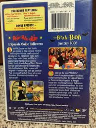 rolie polie olie spooky ookie halloween movie dvd from sort