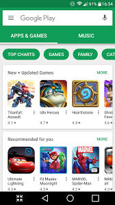 google play for android free download and software reviews