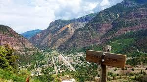 Colorado Tourism Map by Ouray Colorado