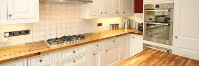 cuisine en bloc comptoir bois cuisine en bloc comptoir de cuisine en bois