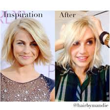 julianne hough haircut tutorial with amy whitcomb transformation