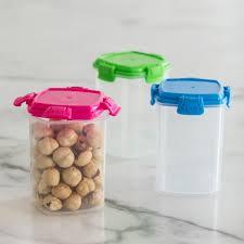 Water Bottle Storage Container Sistema Klipit To Go Medium Storage Container Set Of 3 Asstd