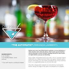 drink the miranda lambert u0027automatic u0027 cocktail radio com music