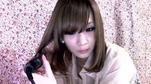 japanese korean eveyday hairstyle lower inner curls tutorial youtube